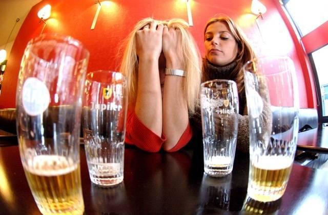 После принятия алкоголя может быть очень плохо