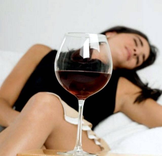 Прием таблеток и спиртного